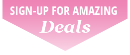 Sign up for amazing deals