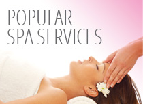 Click to view popular spa services