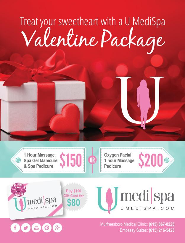 u medispa valentine packages! | u medispa, Ideas