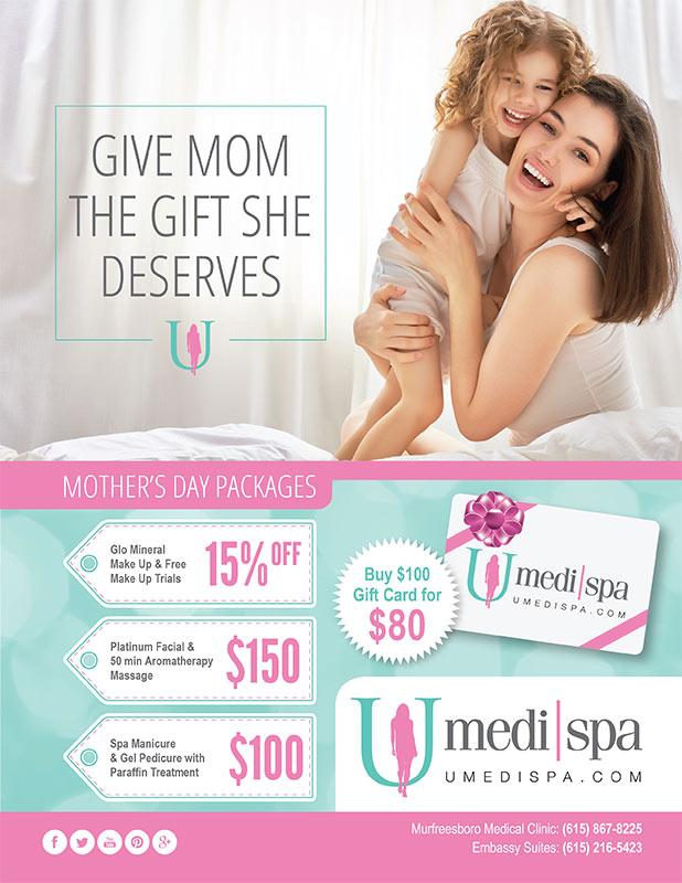 Give Mom The Gift She Deserves! | U MediSpa