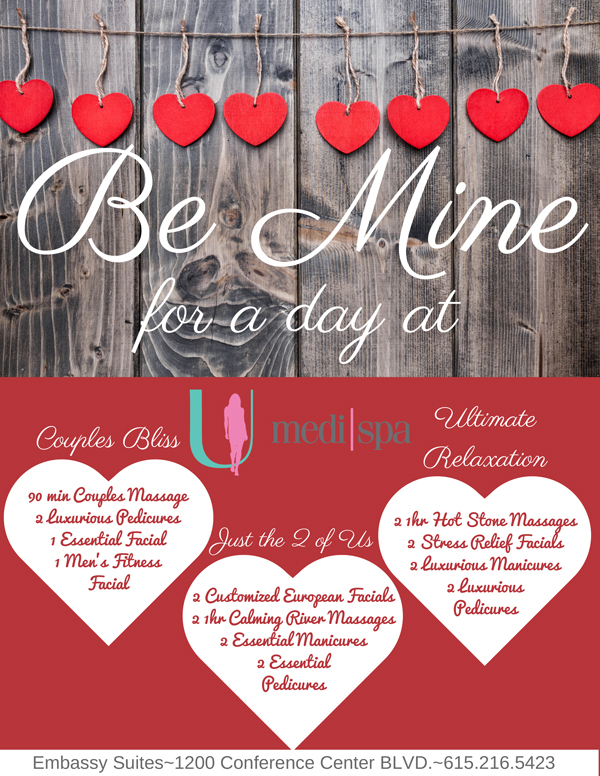 Elegant Valentines Day Specials At U MediSpa Embassy Suites